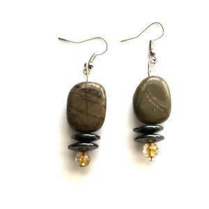 Jewelry - Natural stone earrings